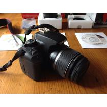 Cámara Digital Canon Eos Xs Rebel Con Lente Ef-300 Mm Usada