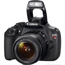 Camara Canon Reflex Eos Rebel T5 Lente 18-55 18 Mp Nueva