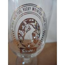 Copa Cerveza Coors Beer Souvenir Edicion Clasica Vintage