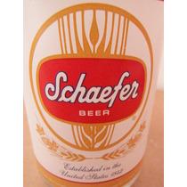 Vaso Cerveza Schaefer Beer Edicion Clasica Souvenir Bar