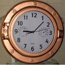Cuadro Decoracion Náutica Y Marina Reloj Escotilla Barco