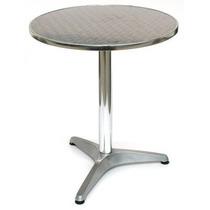 Mesa De Aluminio Con Cubierta De Acero Inoxidable
