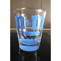 Vaso Shot Tequilero Chocolate M & M World Blue Las Vegas Bar