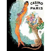 Carteles De Arte Vintage De Casino, Fiesta Y Baile Sav7