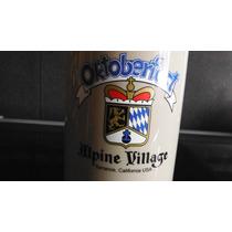 Tarro Cerveza Oktoberfest Alpine Village Bar Beer California