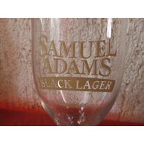 Copa Cerveza Samuel Adams Black Lager Beer Souvenir Bar
