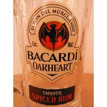 Tarro Bacardi Spiced Rum Oakheart Souvenir Cantina Bar
