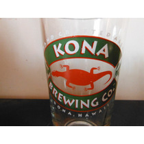 Vaso Cerveza Kona Brewing Company Hawaii Souvenir Beer Bar