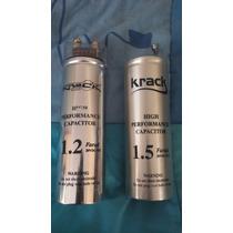 Capacitores Marca Krack Audio De 1.5 Y 1.2 Faradios.