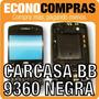 Carcasa Para Blackberry Curve 9360 Negra 100% Nueva!!!!!!!!
