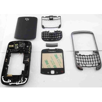 Carcasa Blackberry 9300 Curve Completa Original Blanca Negra