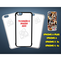 Carcasa Personalizada Iphone 4, 4s, 5, 5s, 6, 6 Plus!!!
