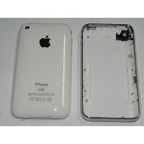 Iphone 3g A1241 Tapa Trasera Blanco Negro/carcasa