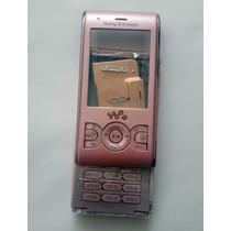 Carcasa Sony Ericsson W595 Rosa