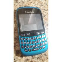 Carcasa Completa Para Blackberry 9220 Azul Vikingotek