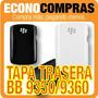Tapa Para Blackberry 9350/9360 Blanco/negro 100% Nuevo!!!!!!
