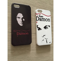 Carcasa Damon Salvatore Vampire Diaries Iphone / Galaxy