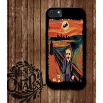 Joker Guason Jocker Batman Carcasa Protector Iphone 4 5 6