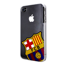 Caja Del Teléfono - Barcelona He 4 4s Trasera Dura Cristali