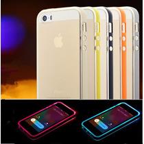 Case Flash Led Iphone 4|4s|5|5s|6|6s|6plus|6splus Galaxy S6