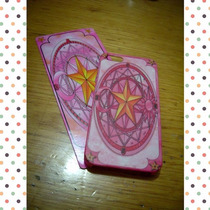 Sakura Card Captor Clow Carcasa Protector Iphone 4 5 6 Ipod