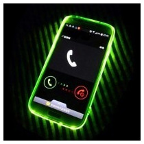 Case Protector Cristal Flash Led Para Moto G2