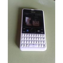 Carcasa Blanca Nokia Asha 210
