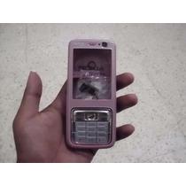 Carcasa Para Nokia N73 Completa Color Rosa