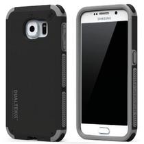 Funda Galaxy S6 Flat Pure Gear Dualtek Rigida + Silicon