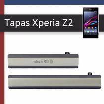 Tapas De Puertos, Xperia Z2, Usb, Micro Sd, Sim, Originales