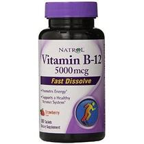 Natrol Vitamina B12 Hff Disolver Rápida Suplementos Nutricio