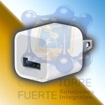 Cargador Cubo Usb 5v Ipod Iphone Mp3 Mp4 Mayoreo Comtf