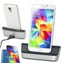 Base Dock Carga Pila Extra Y Sincroniza Samsung Galaxy S5