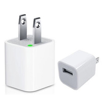Cargador Usb Cubo De Pared Iphone Ipod Tablet Celular Bocina