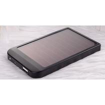 Power Bank Solar 5600 Mah Iphone, Ipad, 4 Conectores!!