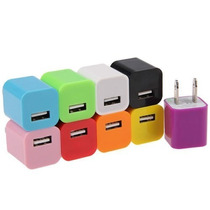 Mayoreo 10 Cargadores Usb De Pared Salida 5v 1a Tipo Apple