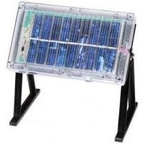 Panel De Celdas Solares De 3 Vcc, 120 Ma, Con Gabinete Y Ba