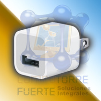 Minicargador Pared Usb 5v Ipod Iphone Mp3 Mp4 Mayoreo Comtf