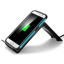 Cargador Spigen Inalambrico Wireless Qi Samsung Iphone F300w