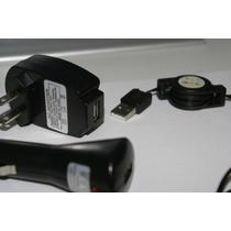 Cable Multicargador Usb Varios Celulares De Pared Y Coche