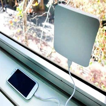 Cargador Solar De Ventana Para Cualquier Dispositivo Movil