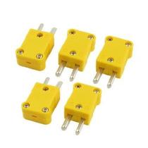 Uxcell 5 Piezas De Plástico Amarillo Caso Smpw-km K Tipo De