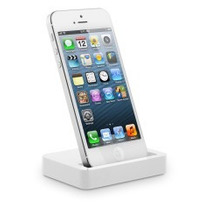 Dock Stand Iphone 5/5s/5c Carga Sincroniza Cable Usb Incl.