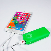 Ebai Q1 Power Bank Cargador Portátil 5600 Mah Verde Iphone 6