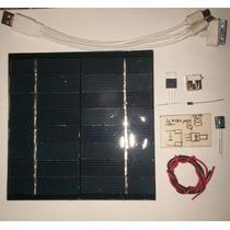 Celda Solar 2 W, Kit Para Armar Tu Cargador Solar
