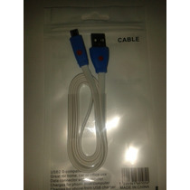 Cable Usb 2.0 V8 Adaptador Cargador Para Celular Tablet