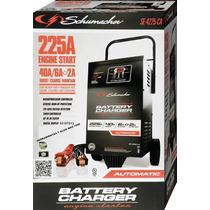 Cargador De Baterias Con Probador Y Ruedas Schumacher 12 V