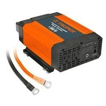 Inversor De Corriente Dual C/puerto Usb 1000w Truper 10491