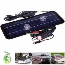 Cargador De Bateria Solar 12 Volt 4.5w