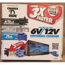 Cargador Universal Baterias 6/12v 3amp Schumacher Montables